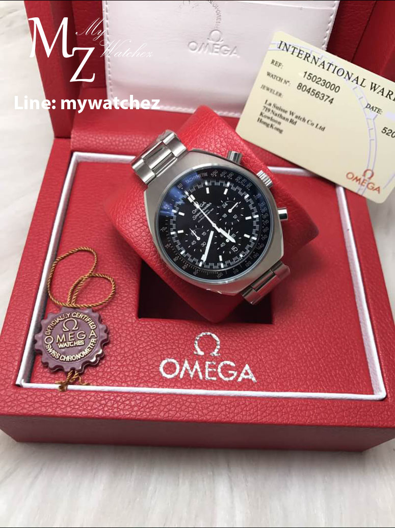 Omega Speedmaster Mark II Co-Axial Chronograph Steel on Steel Ref# 327.10.43.50.01.001