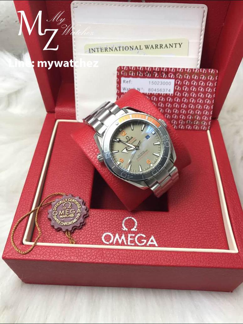 Omega Seamaster Planet Ocean 600M Co-Axial Master Chronometer Titanium on Titanium Ref:215.90.44.21.99.001