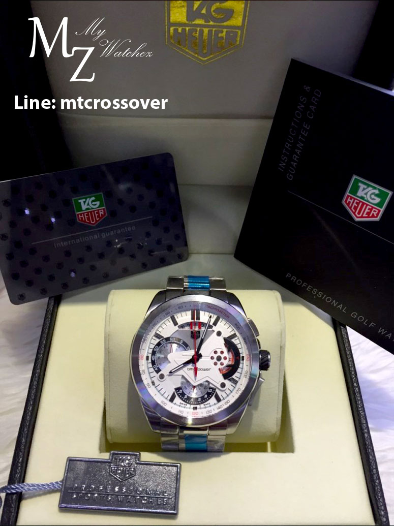 Tag Heuer BMW Power - White Dial Stainless