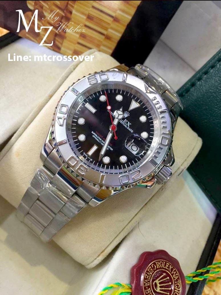 Rolex Yatch Master I - Titanium Bezel with Black Dial