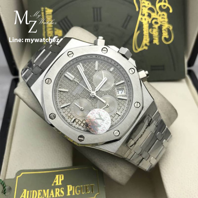 Audemars Piguet Royal Oak Chronograph - Stainless Grey Dial