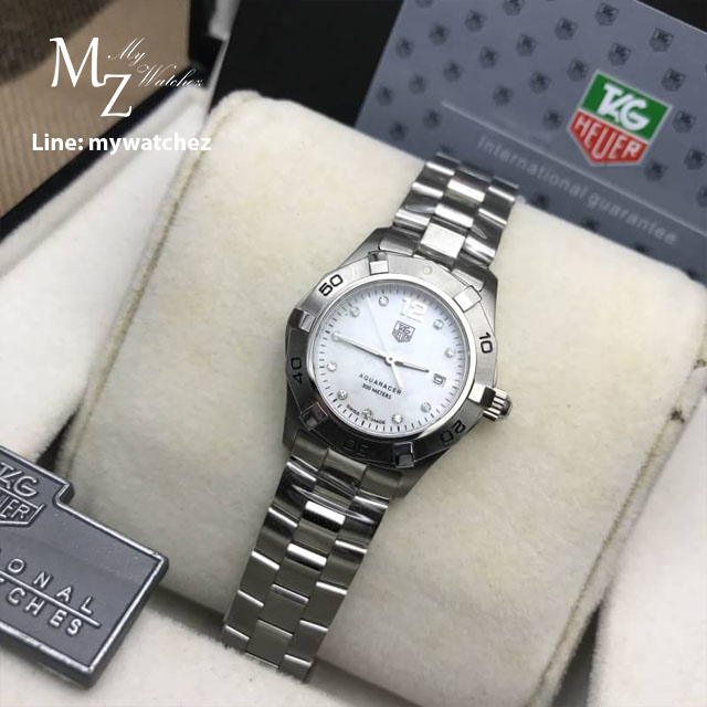 Tag Heuer Aquaracer Mother of Pearl Dial Ladies Watch - WAY1414.BA0920
