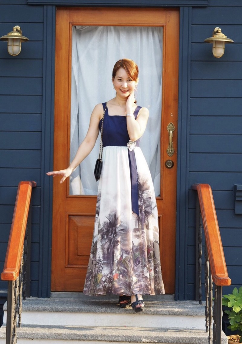 เสื้อผ้าแฟชั่นเกาหลี Lady Ribbon Thailand Normal Ally Present D.S.Y new collection dress