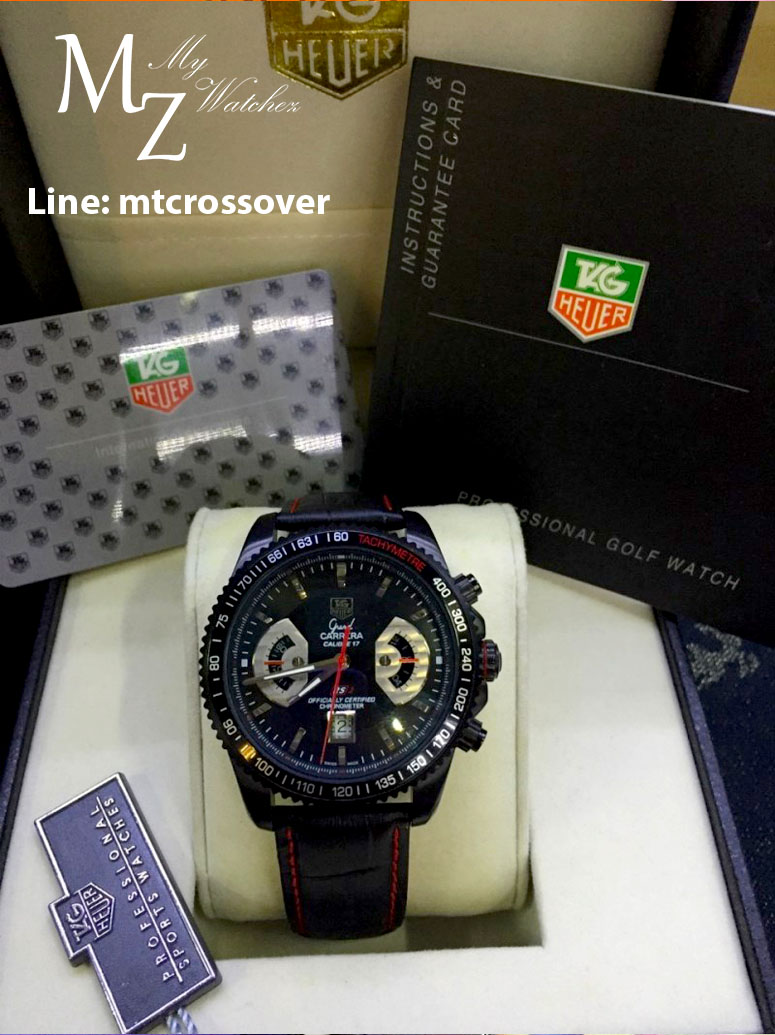 TAG HEUER Grand Carrera 17RS Caliper Chrono - All Black