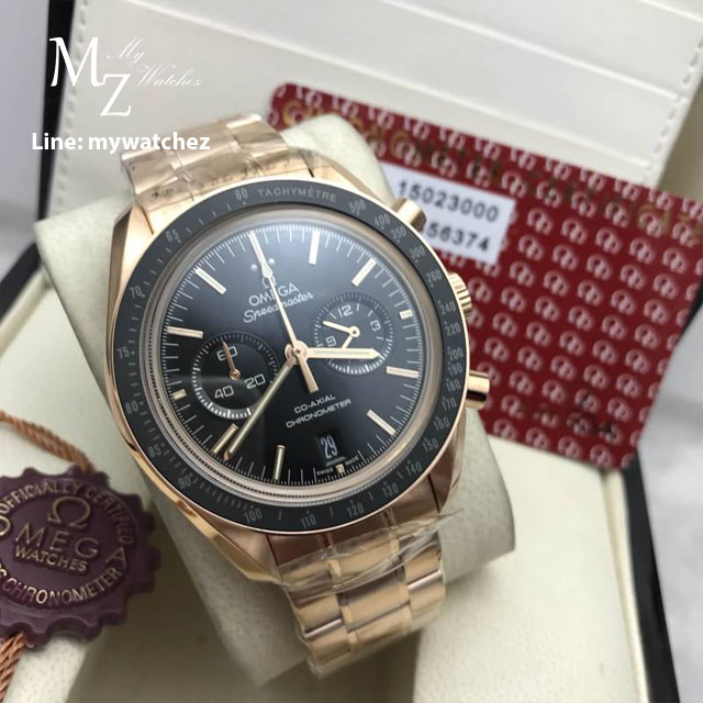 Omega Speedmaster Moonwatch Professional Rosegold Bracelet