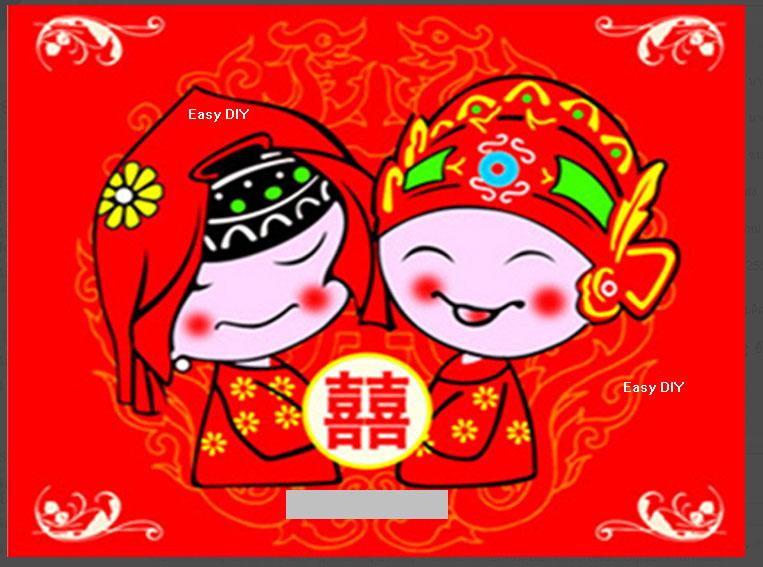 บ่าวสาวจีน