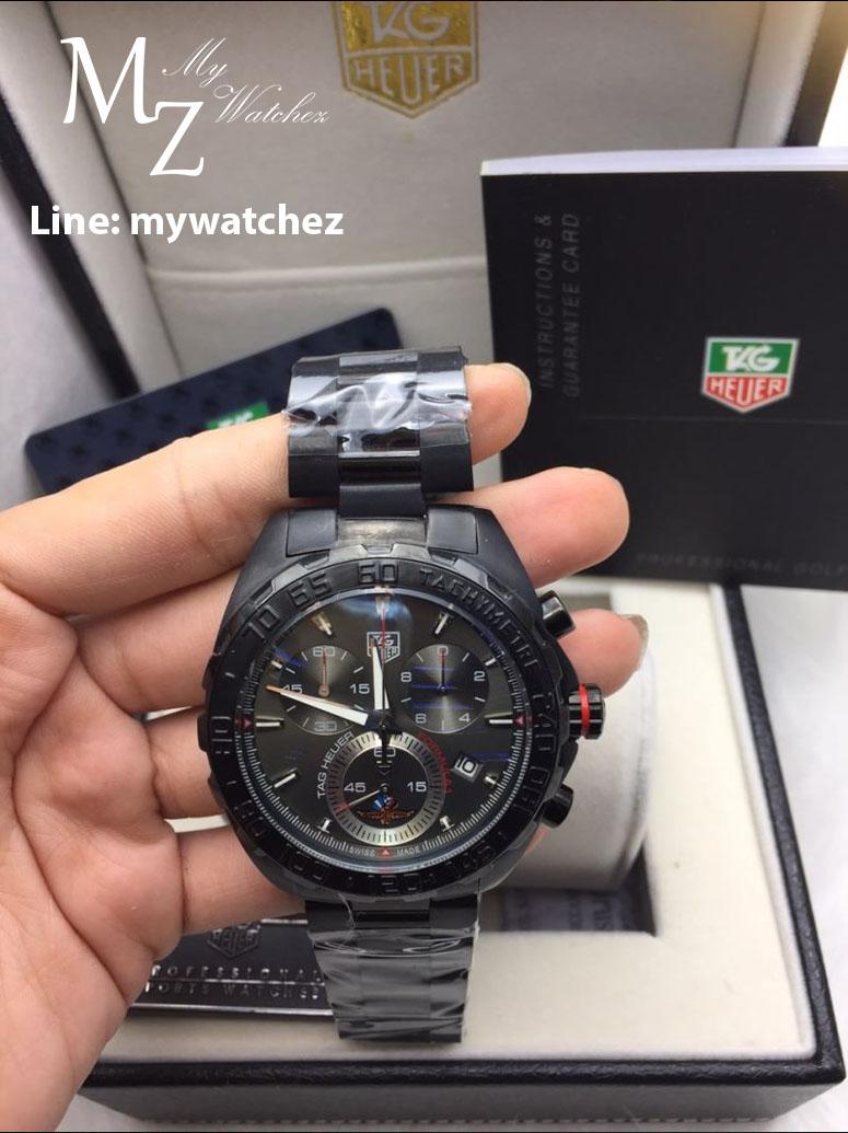 Tag Heuer Formula 1 Mclaren Chronograph 43MM - ฺBlack PVD