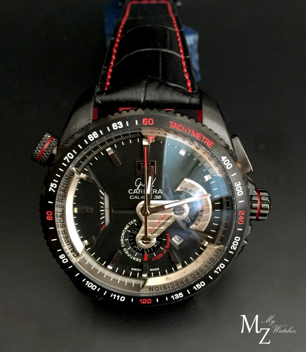 Tag Heuer Grand Carrera Calibre 36 Coat PVD (Red)