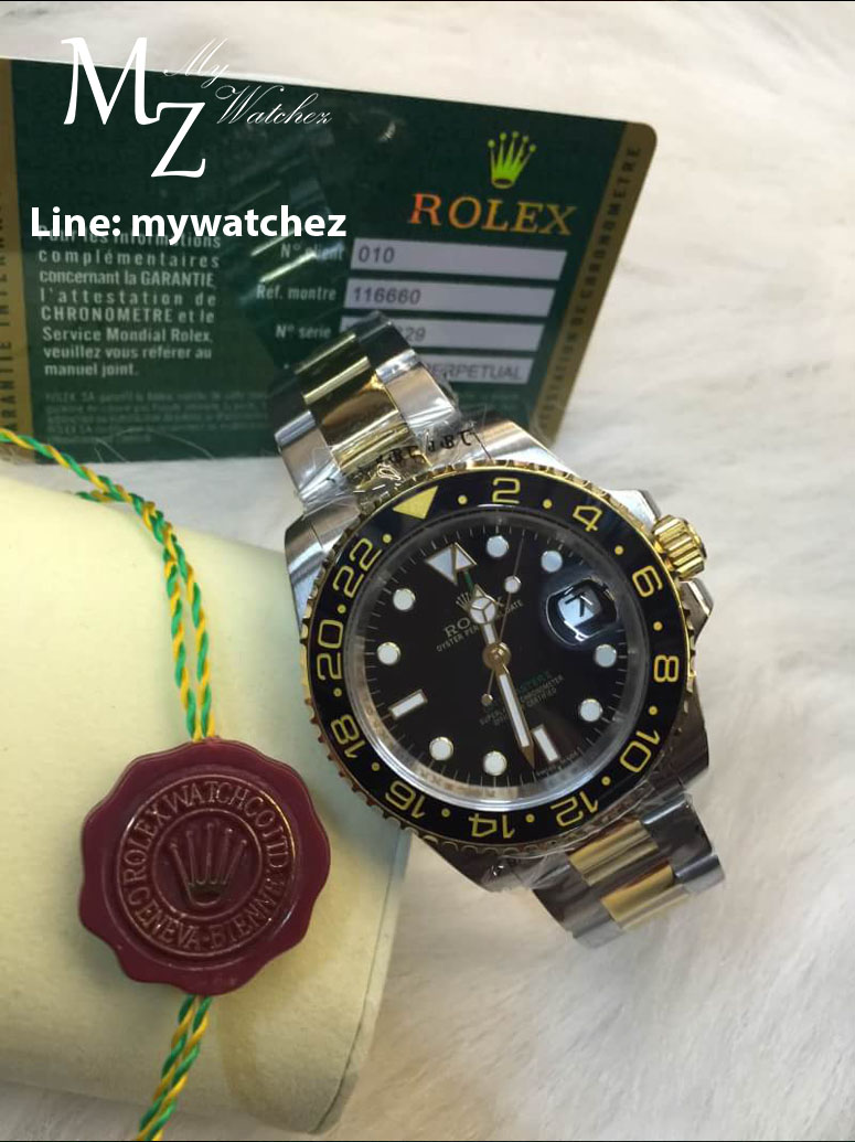 Rolex GMT Master II - Two Tone Stainless/Gold Ref#116713LN