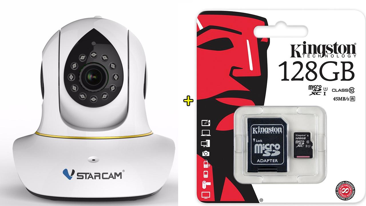 กล้องไอพี Vstarcam C38S 128GB ความชัด 2ล้าน pixel ระบบการทำงานจัดเต็มสูงสุด