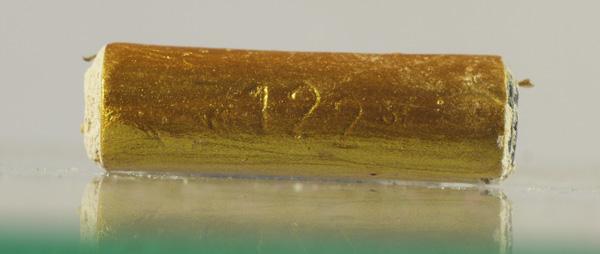 ตะกรุดเมียมากอาบทอง หมายเลข 122