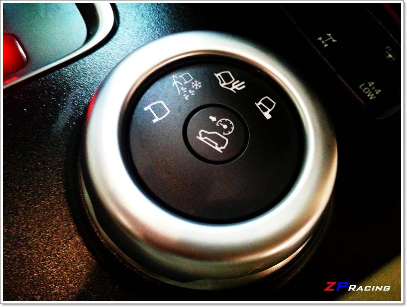 ครอบปุ่มเปลี่ยนโหมด 4WD