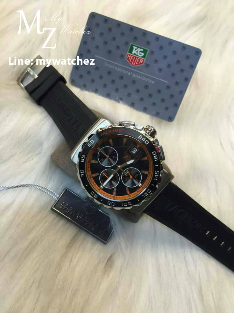 Tag Heuer Formula 1 Calibre 16 - Orange and Rubber band