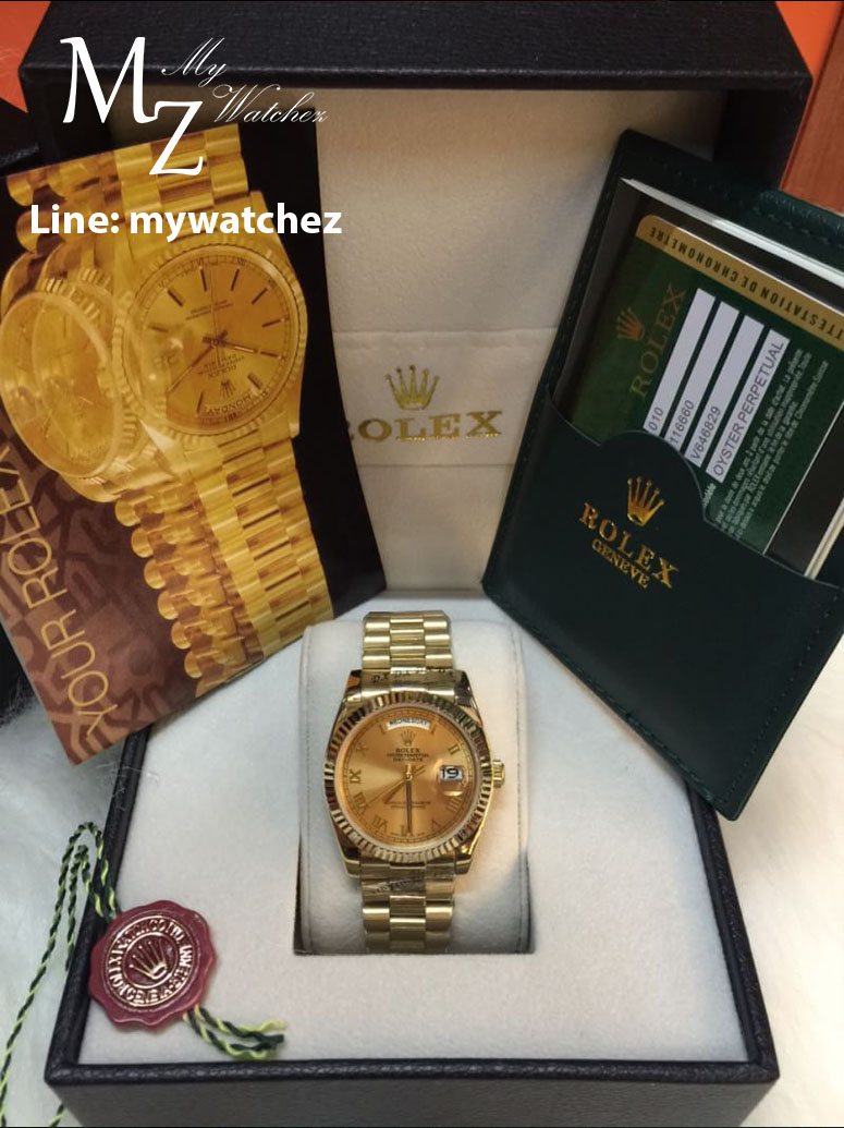 Rolex Day Date 40 Yellow Gold - Basel World 2015