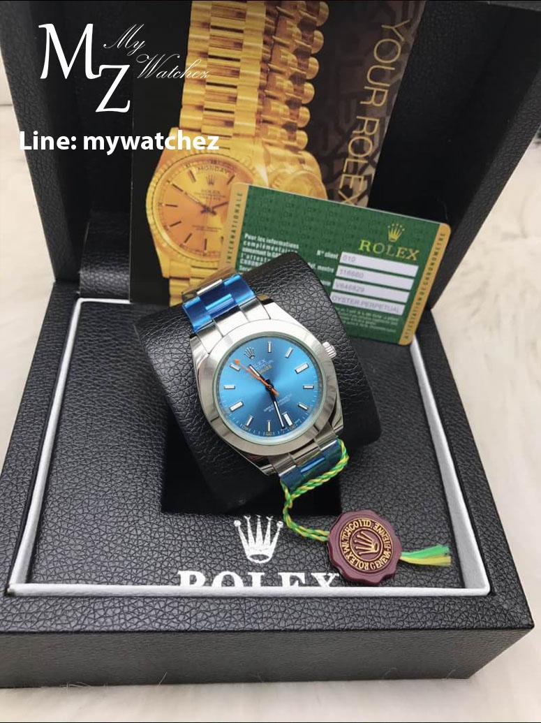 Rolex Milgauss 116400GV - Z Blue Dial 40MM