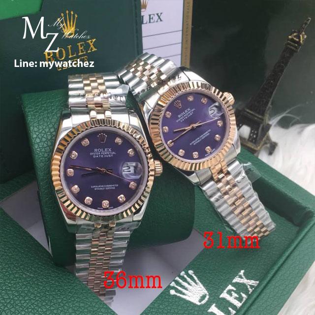Rolex Lady Datejust - Blue Diamond - 69173 Jubilee