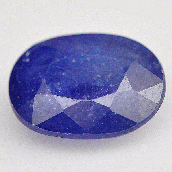 พลอยไพลิน (Blue Sapphire) พลอยธรรมชาติแท้ น้ำหนัก 3.70 กะรัต