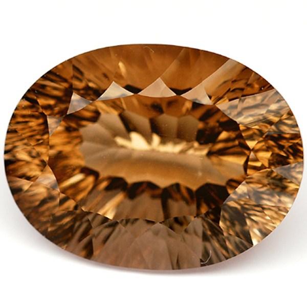 พลอยควอตซ์ (Quartz) พลอยธรรมชาติแท้ น้ำหนัก 16.63 กะรัต
