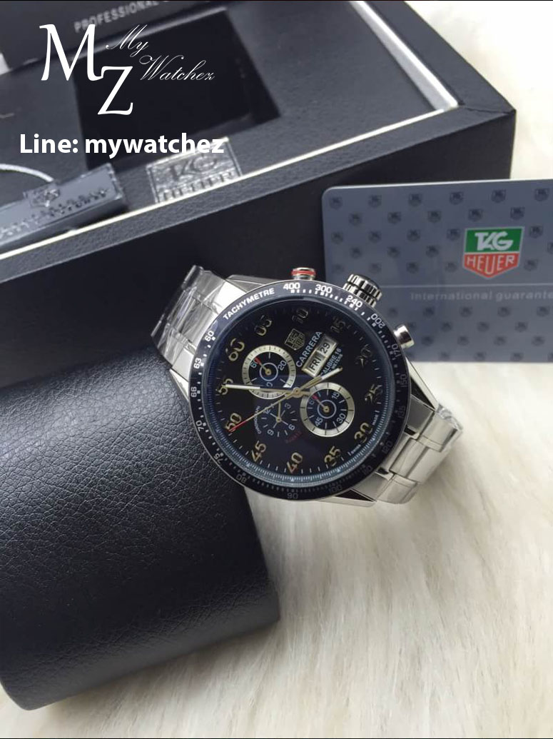 TAG HEUER CARRERA Calibre 1887 Chronograph Ref:CAR2A10.BA0799
