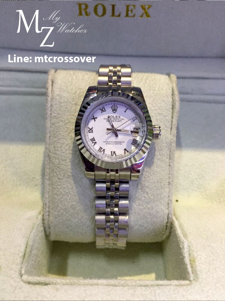 Rolex Datejust Lady White Dial Stainless Steel+