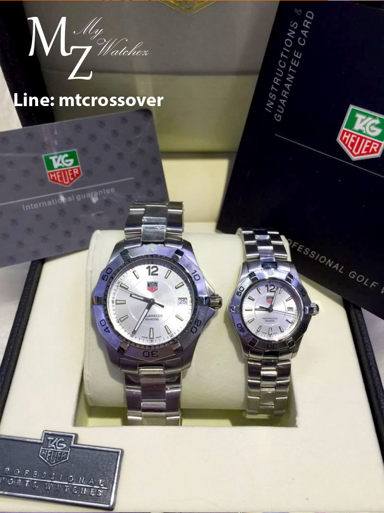 Tag Heuer Aquaracer 300 Meters - Silver Dial Stainless