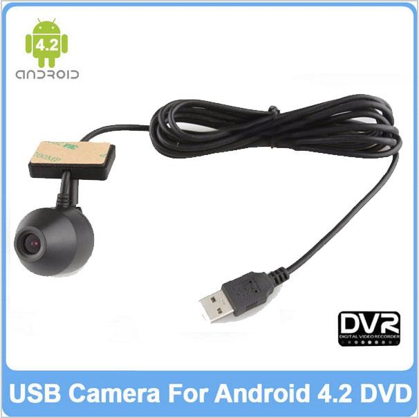 กล้องติดรถยนต์ กล้องช่วยมองหลัง ความละเอียดสูง USB DVR Camera Front Android 4.2 And 4.4 Car DVD GPS Navigation 1.3 million pixel CAK320