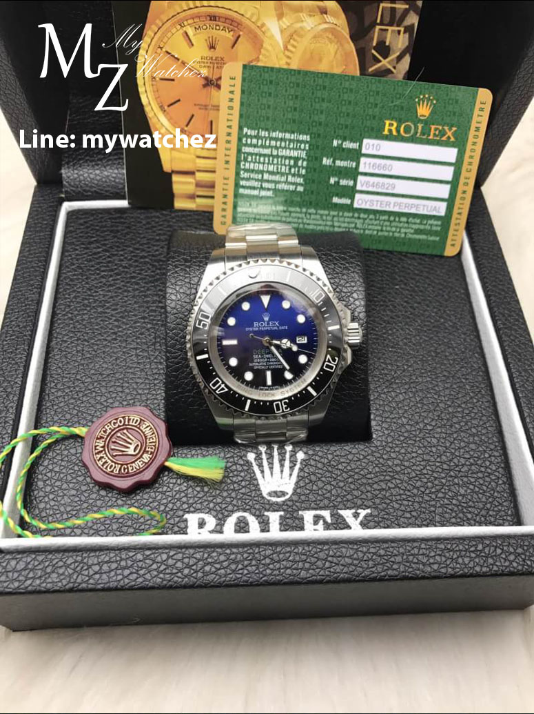 Rolex Deepsea D-Blue Ref#11660 Stainless 44MM