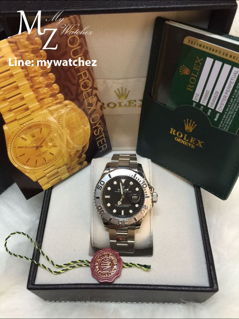 Rolex Yatch-Master I - Black Dial Stainless
