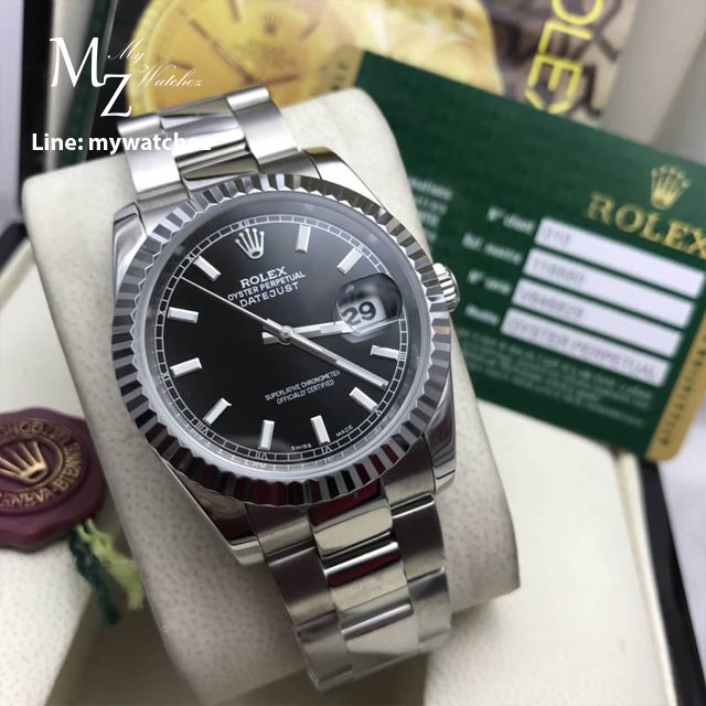 Rolex Oyster Perpetual Datejust 41 Basel 2017 - Black Dial