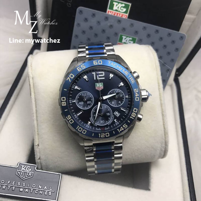 Tag Heuer Formula 1 44MM - Blue Bezel