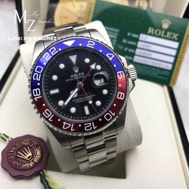 Rolex GMT MasterII Ref: 11671BLRO Pepsi