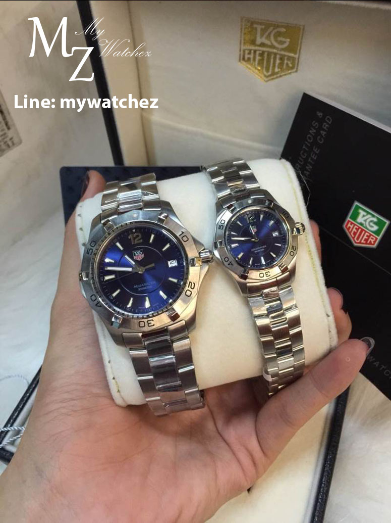 Tag Heuer Aquaracer 300 Meters - Blue Dial Stainless