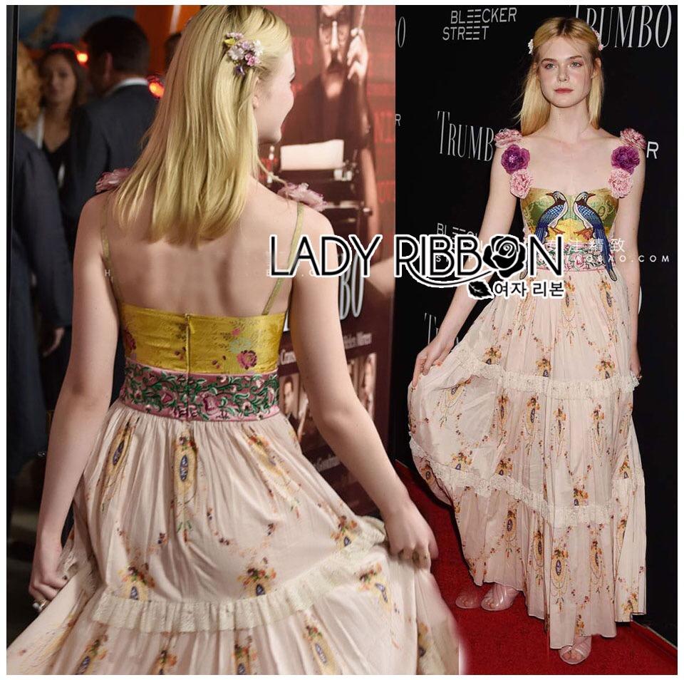 &#x1F380 Lady Ribbon's Made &#x1F380 Gucci Sweet Bohemian Printed Layered Maxi Dress