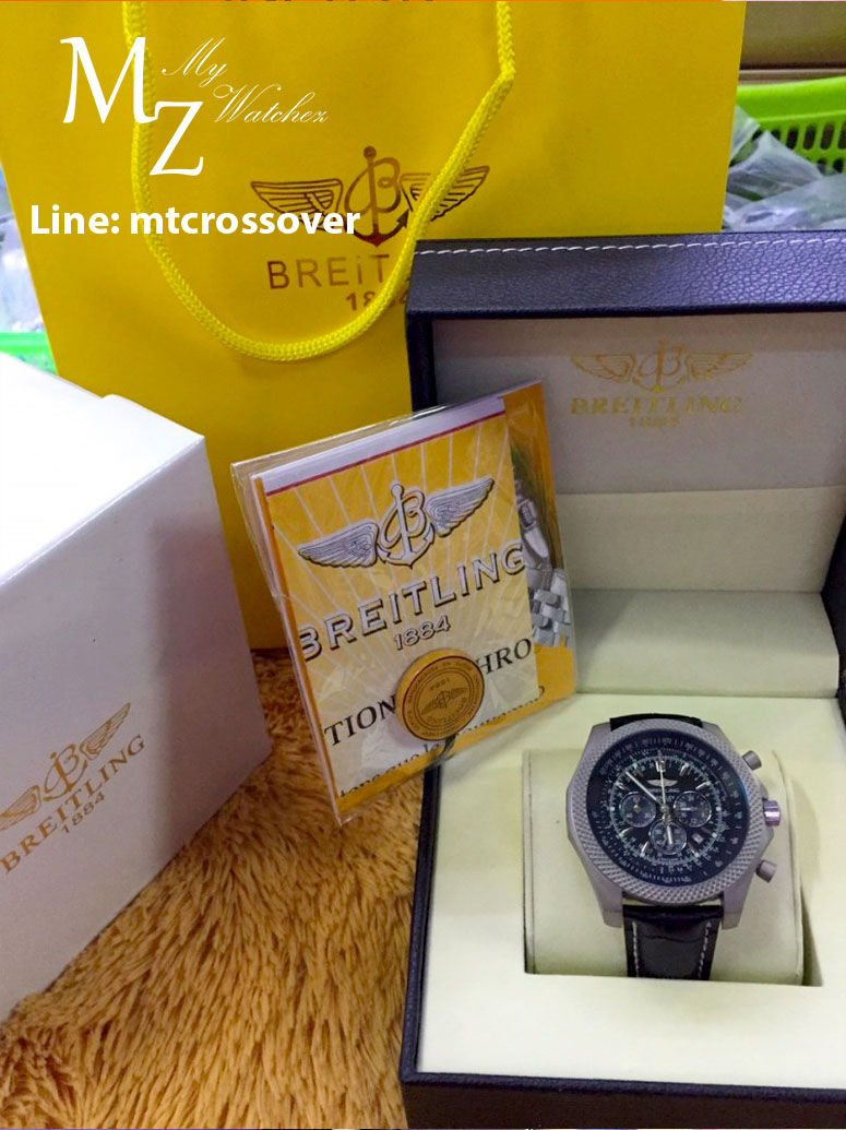 Breitling For Bentley B06 - Black dial and Strap