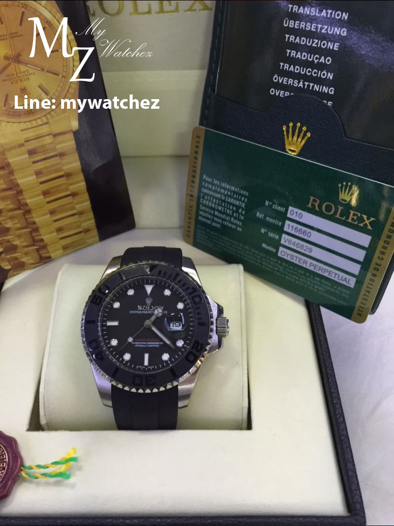 Rolex Yacth-Master Ceramic Bezel with Stainless Steel