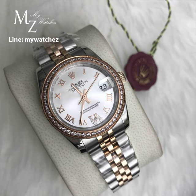 Rolex Ladies Datejust 31MM Two-tone Jubilee White Dial
