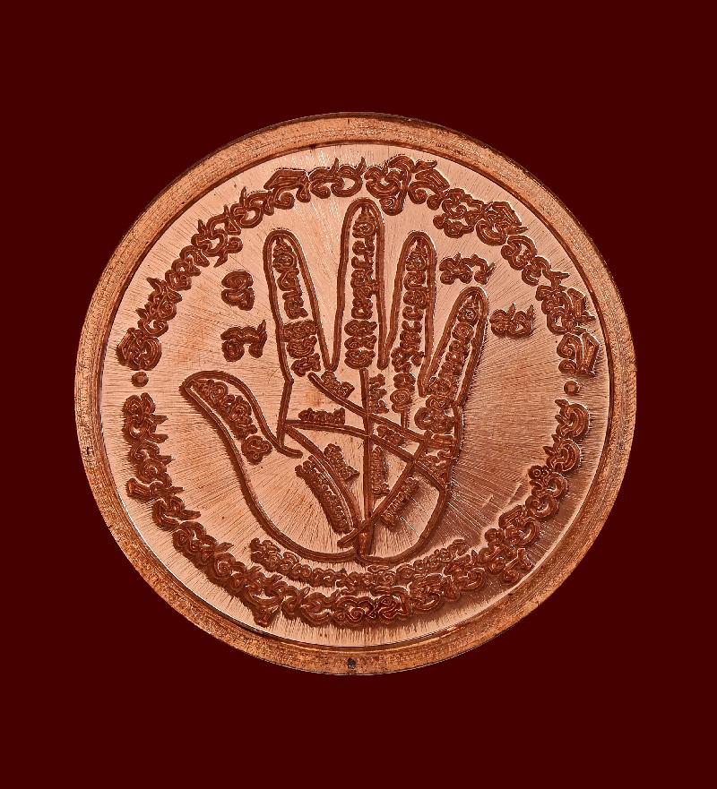 เหรียญต่อวาสนา หลวงปู่ลอง วัดวิเวกวายุพัด