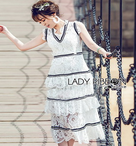 Lady Ribbon Dress เดรสยาว