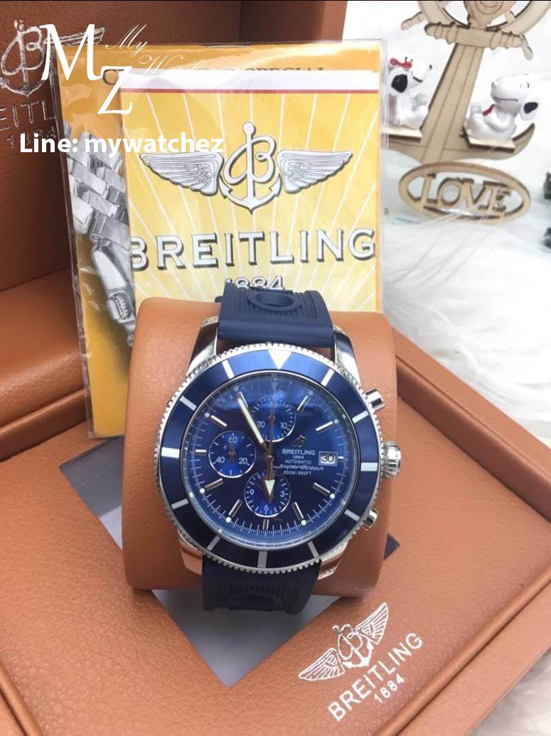 Breitling Superocean Héritage II Chronograph 44MM - Blue Dial