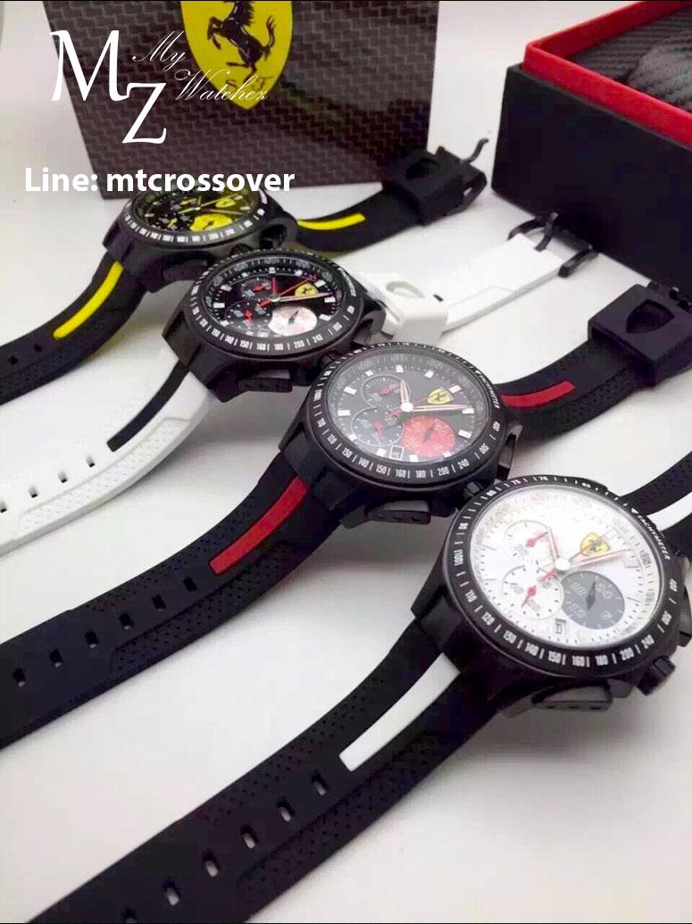 นาฬิกา Ferrari Scuderia Laptime ก๊อปเกรด Mirror และ เกรด Swiss