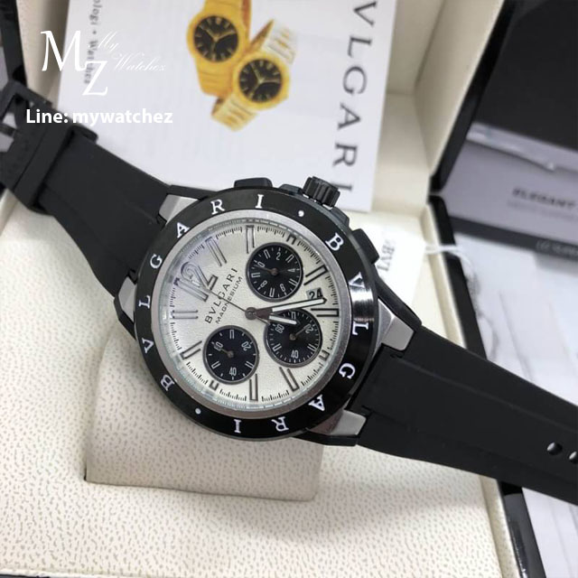 Bvlgari Diagono Magnesium Automatic Chronograph Men's Watch 102305
