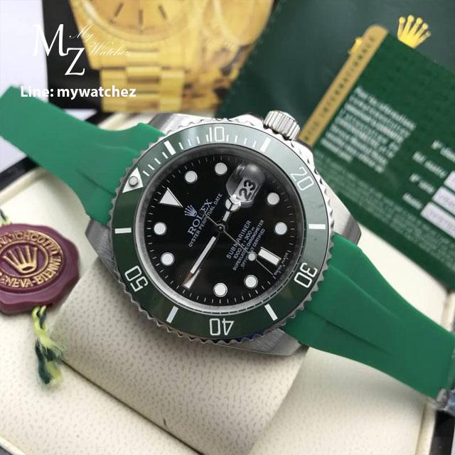 Rolex Submariner 50TH Year Anniversary - Green Strap
