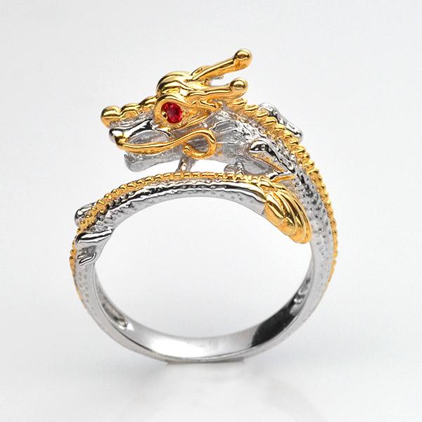 แหวนพลอยแท้ แหวนมังกร