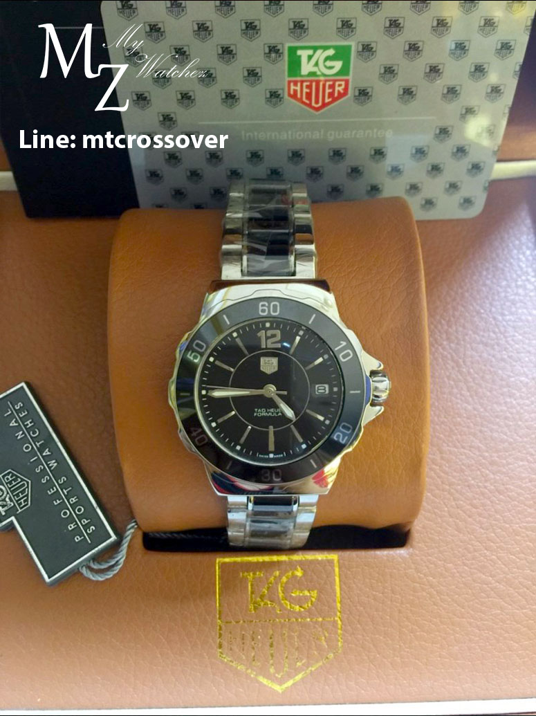 Tag Heuer Formula 1 Lady - Black Ceramic and Stainless