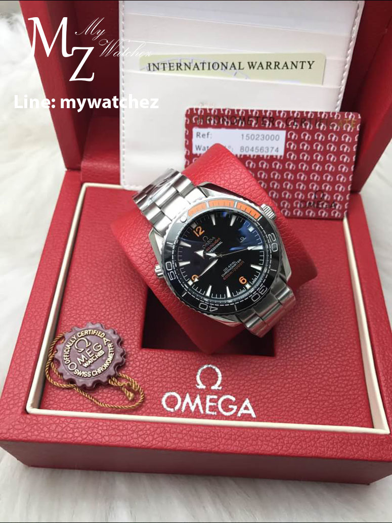Omega Seamaster Planet Ocean 600M Co-Axial Master Chronometer Steel on Steel Ref:215.30.44.21.01.002
