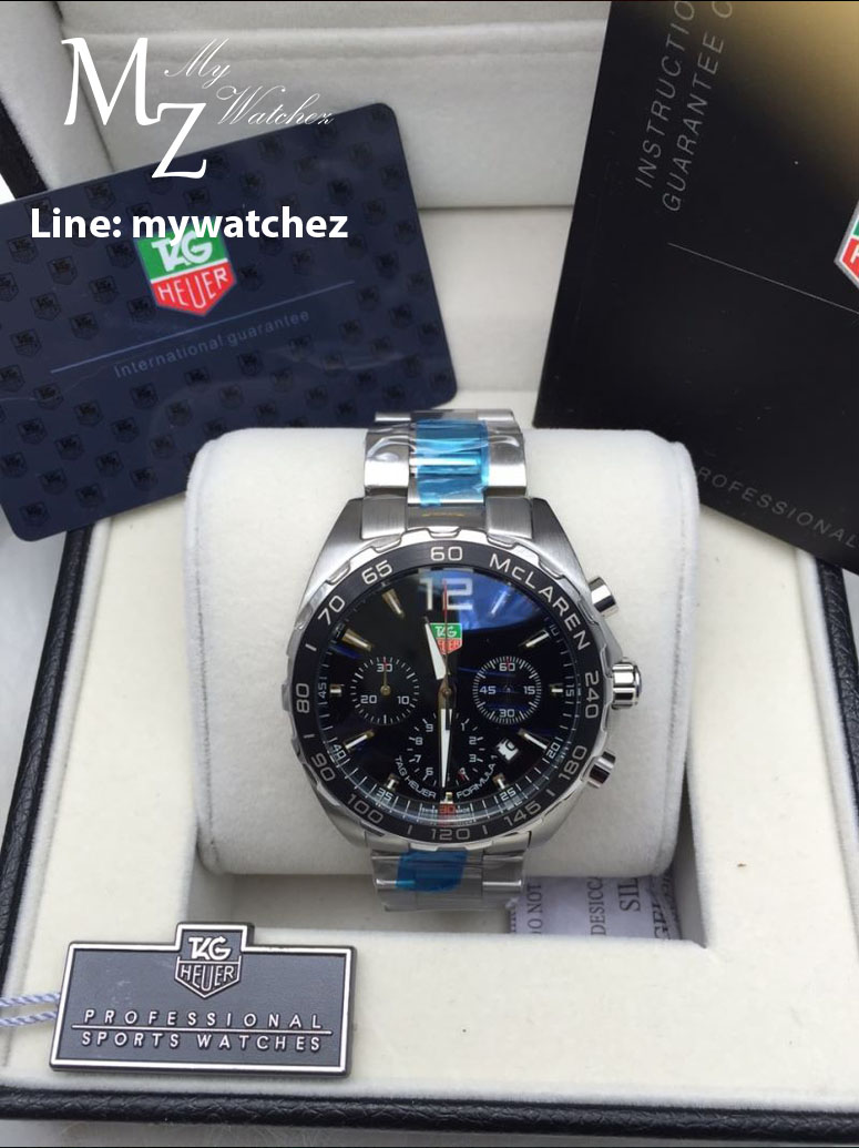 Tag Heuer Formula 1 Mclaren Chronograph 43MM - Stainless ฺBlack Dial