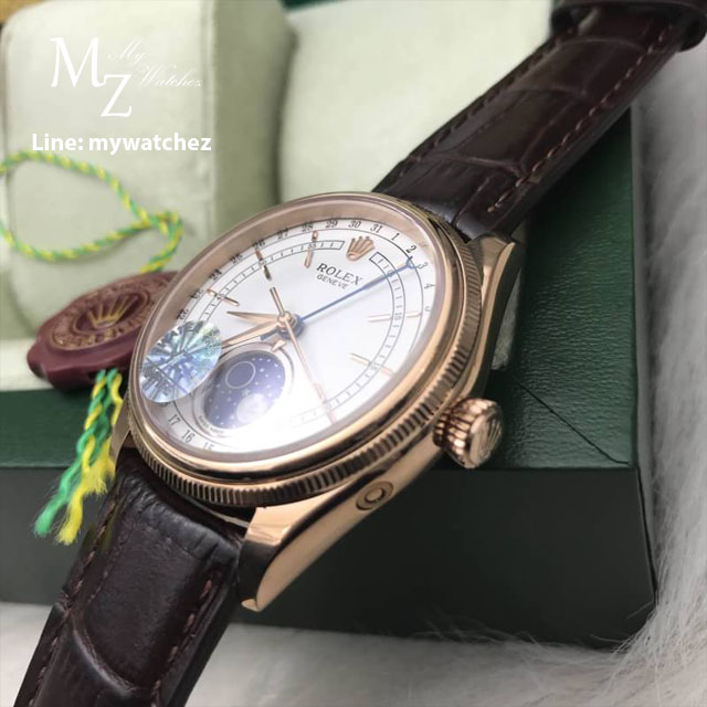 Rolex Cellini Moonphase 2017 Rose-Gold: 39MM