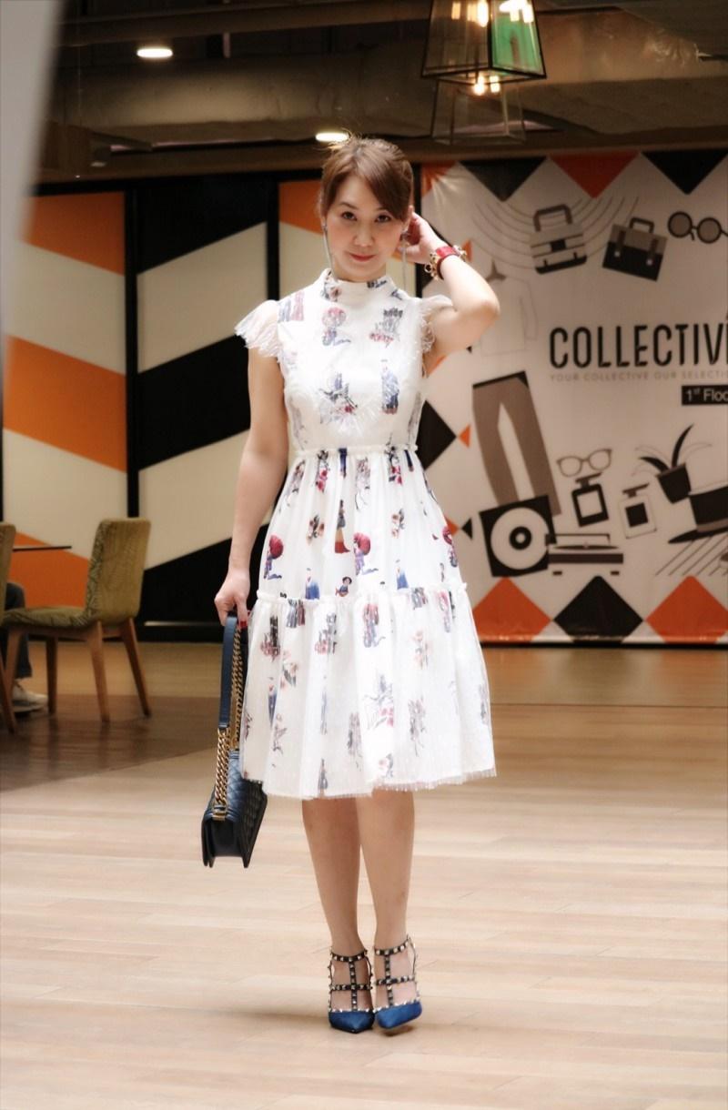 เสื้อผ้าแฟชั่นเกาหลี Lady Ribbon Thailand Normal Ally Present T.BKK new collection dress