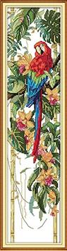 Macaw (ไม่พิมพ์/พิมพ์ลาย)