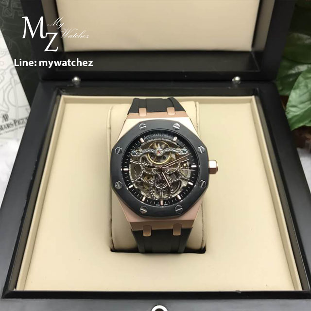 AP Royal Oak Openwork Skeleton 41MM Rose Gold